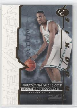 2007-08 Bowman Elevation Blue #96 - Brandon Wallace /99