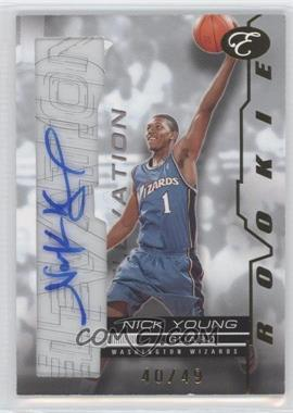 2007-08 Bowman Elevation Rookie Writings [Autographed] #RW-NY - Nick Young /49