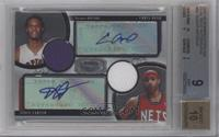 Chris Bosh, Vince Carter /25 [BGS 9]