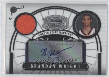 2007-08 Bowman Sterling #BWR1 - Brandan Wright /21