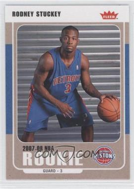 2007-08 Fleer - [Base] - Glossy #226 - Rodney Stuckey