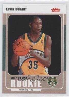 2007-08 Fleer Glossy #212 - Kevin Durant