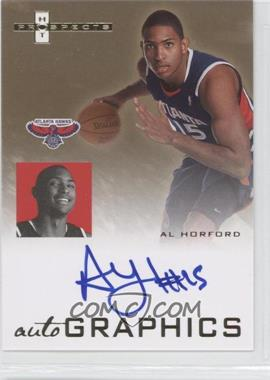2007-08 Fleer Hot Prospects - Autographics #AU-AH - Al Horford