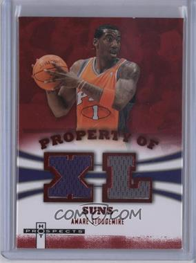 2007-08 Fleer Hot Prospects - Property Of Materials - Red #PO-AS - Amar'e Stoudemire /25