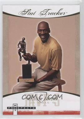 2007-08 Fleer Hot Prospects - Stat Tracker #ST-27 - Michael Jordan