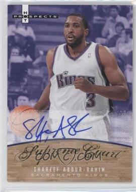 2007-08 Fleer Hot Prospects - Supreme Court - Autographs #SC-SA - Shareef Abdur-Rahim /25