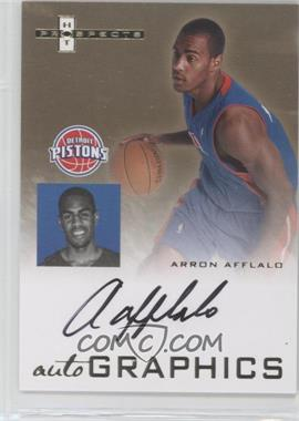 2007-08 Fleer Hot Prospects Autographics #AU-AA - Arron Afflalo