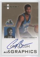 Corey Brewer (blue ink)