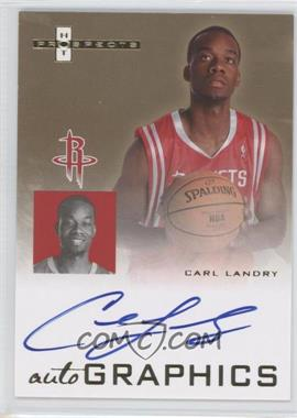 2007-08 Fleer Hot Prospects Autographics #AU-CL - Carl Landry