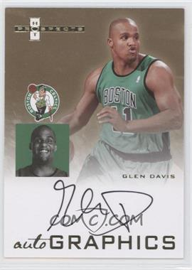 2007-08 Fleer Hot Prospects Autographics #AU-GD - Glen Davis