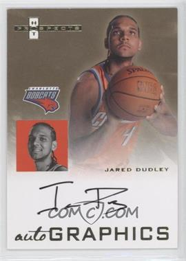 2007-08 Fleer Hot Prospects Autographics #AU-JD - Jared Dudley