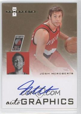 2007-08 Fleer Hot Prospects Autographics #AU-JM - Josh McRoberts