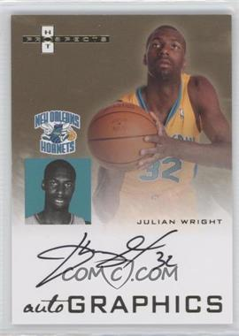2007-08 Fleer Hot Prospects Autographics #AU-JW - Julian Wright