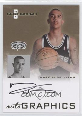 2007-08 Fleer Hot Prospects Autographics #AU-MW - Marcus Williams