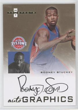 2007-08 Fleer Hot Prospects Autographics #AU-RS - Rodney Stuckey