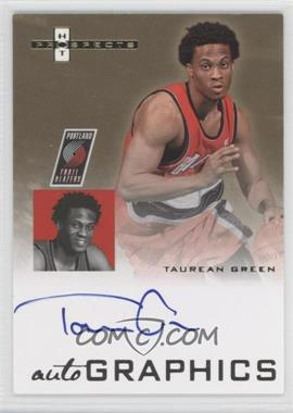 2007-08 Fleer Hot Prospects Autographics #AU-TG - Taurean Green