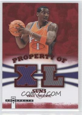 2007-08 Fleer Hot Prospects Property Of Materials Red #PO-AS - Amar'e Stoudemire /25