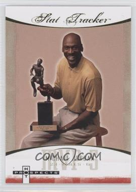 2007-08 Fleer Hot Prospects Stat Tracker #ST-27 - Michael Jordan