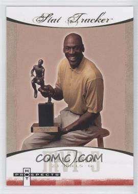2007-08 Fleer Hot Prospects Stat Tracker #ST-27 - Michael Jordan