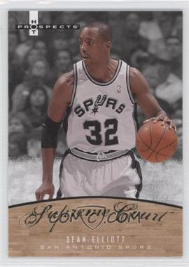 2007-08 Fleer Hot Prospects Supreme Court #SC-10 - Sean Elliott