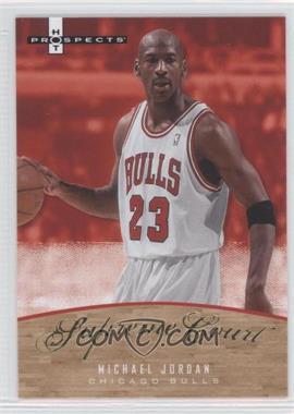 2007-08 Fleer Hot Prospects Supreme Court #SC-16 - Michael Jordan