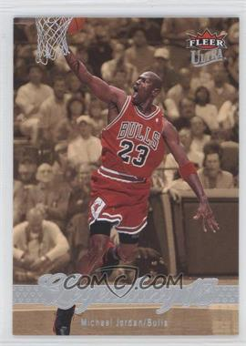 2007-08 Fleer Ultra - [Base] - Retail #244 - Michael Jordan