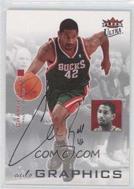 2007-08 Fleer Ultra Autographics #AU-CB - Charlie Bell
