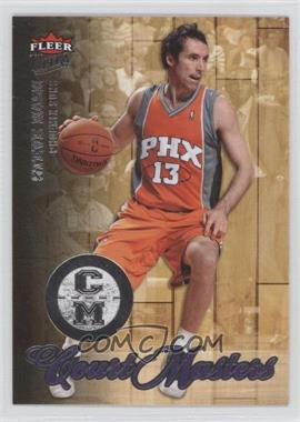 2007-08 Fleer Ultra Court Masters #CM-1 - Steve Nash