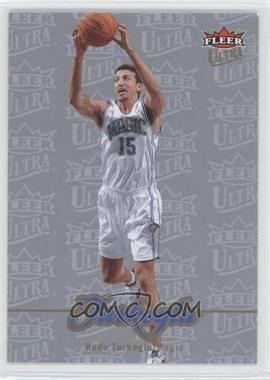 2007-08 Fleer Ultra Platinum Medallion #137 - Hedo Turkoglu /25
