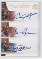 Andre Iguodala, Ben Gordon, Al Jefferson /10