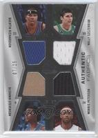 Quentin Richardson, Wally Szczerbiak, DeShawn Stevenson, Morris Peterson /25