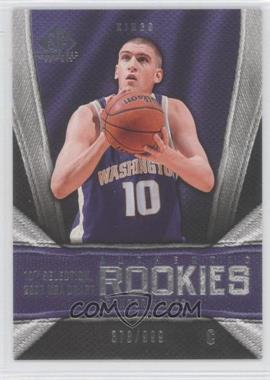 2007-08 SP Game Used - [Base] #150 - Spencer Hawes /999