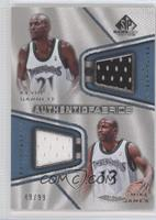 Kevin Garnett, Mike James /99