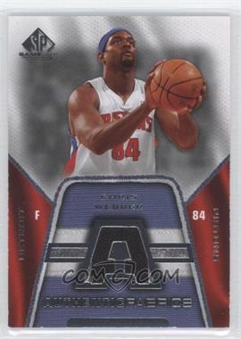 2007-08 SP Game Used Authentic Fabrics #AF-CW - Chris Webber