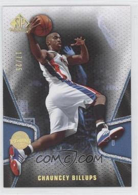 2007-08 SP Game Used Gold #24 - Chauncey Billups /25