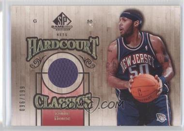 2007-08 SP Game Used Hardcourt Classics #HC-EH - Eddie House /199
