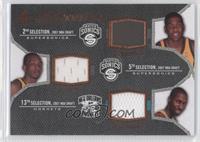 Kevin Durant, Jeff Green, Julian Wright