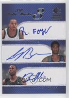 Randy Foye, Corey Brewer, Al Jefferson /25