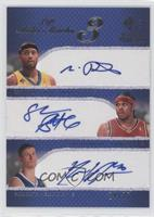 Morris Peterson, Shannon Brown, Paul Davis /25
