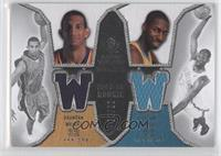 Bracey Wright, Julian Wright, Brandan Wright /99