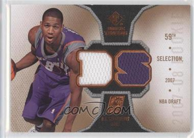 2007-08 SP Rookie Threads Rookie Photo Shoot Materials #RT-DS - D.J. Strawberry