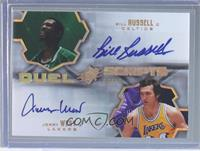 Bill Russell, Jerry West /25