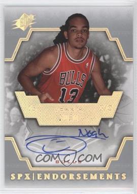2007-08 SPx Endorsements [Autographed] #E-JN - Joakim Noah