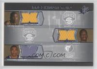 Kevin Durant, Jeff Green, Michael Conley