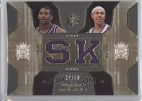 Metta World Peace, Mike Bibby /50