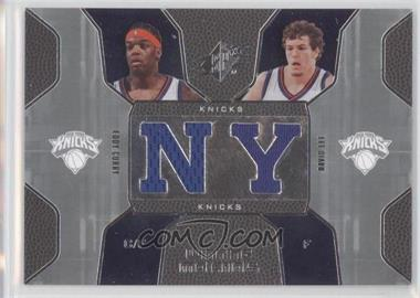 2007-08 SPx Winning Materials Combos #WMC-CL - David Lee, Eddy Curry