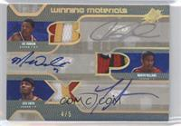 Marvin Williams, Josh Smith, Joe Johnson /5
