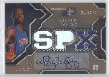 2007-08 SPx #140 - Rodney Stuckey /825