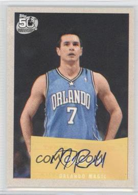 2007-08 Topps - [Base] - 1957-58 Variations Certified Autograph [Autographed] #106 - J.J. Redick