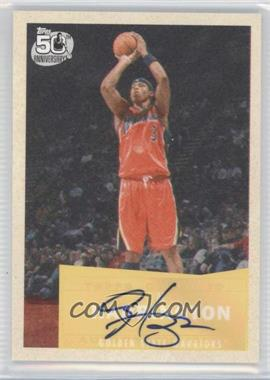 2007-08 Topps - [Base] - 1957-58 Variations Certified Autograph [Autographed] #12 - Al Harrington